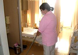 病院の衛生清掃