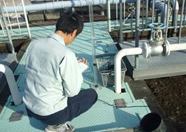 浄化槽設備の点検
